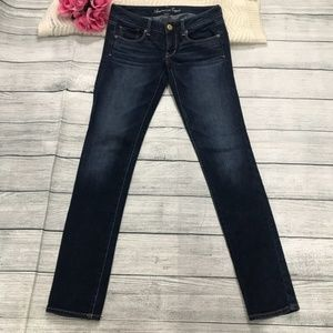 American Eagle Outfitters Skinny Jeans sz2 Ins32""